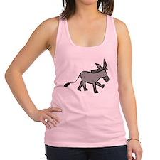 Cute Donkey Racerback Tank Top