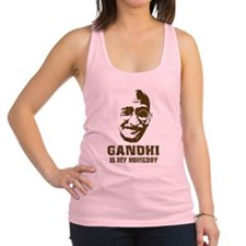 Gandhi Homeboy Racerback Tank Top