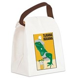 Tijuana Iguana Canvas Lunch Bag