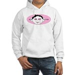Pink In One Ear Hooded Sweatshirt