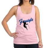 Freestyle Skiing Racerback Tank Top