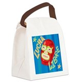 Lucha Libre Canvas Lunch Bag