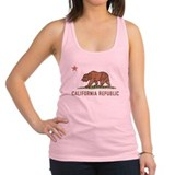 Vintage California Republic Racerback Tank Top