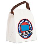 Pennsylvania Statehood Canvas Lunch Bag