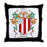 Apsley Coat of Arms Throw Pillow
