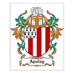 Apsley Coat of Arms Small Poster