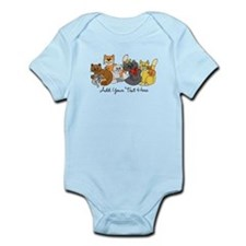 Cats and Kittens Infant Bodysuit