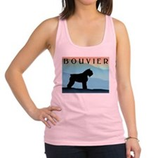 blue mountains bouvier wdtx4.jpg Racerback Tank To