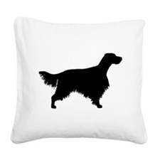 English Setter Square Canvas Pillow