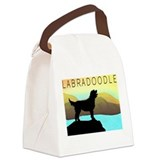 by the sea mpad2.jpg Canvas Lunch Bag