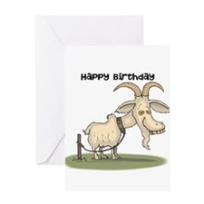 Happy Birthday You Old Goat Greeting Card