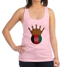 King Of Afghanistan Racerback Tank Top