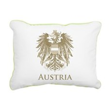 Vintage Austria Rectangular Canvas Pillow