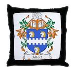 Alleet Coat of Arms Throw Pillow