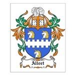 Alleet Coat of Arms Small Poster