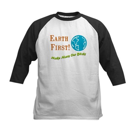 Earth First Kids Baseball Jersey