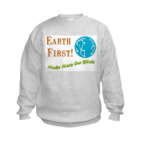Earth First Kids Sweatshirt