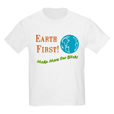 Earth First Kids T-Shirt