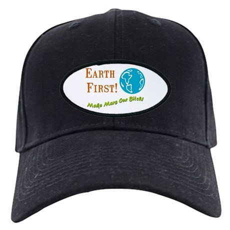 Earth First Black Cap
