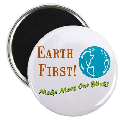 Earth First Magnet