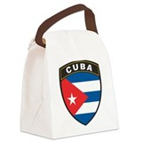 Cuba Canvas Lunch Bag