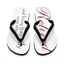 Retired / Retirement Flip Flops