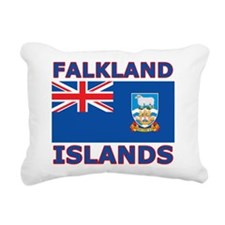 Falkland Islands Flag Rectangular Canvas Pillow