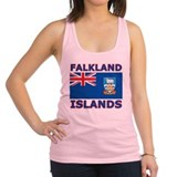 Falkland Islands Flag Racerback Tank Top