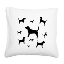 many beagles sq.png Square Canvas Pillow