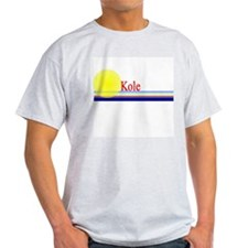 Kole Ash Grey T-Shirt