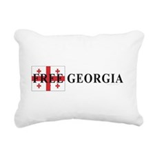 Free Georgia Rectangular Canvas Pillow