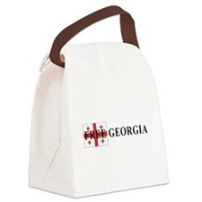 Free Georgia Canvas Lunch Bag