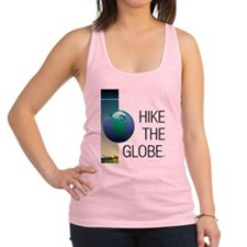 TOP Hike the Globe Racerback Tank Top