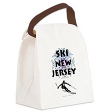 TOP Ski New Jersey Canvas Lunch Bag
