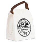 Keystone Old Circle Decay.png Canvas Lunch Bag