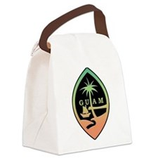 Guam Canvas Lunch Bag