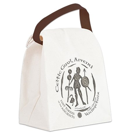 Celtic Chieftain Coin Canvas Lunch Bag