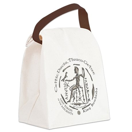 Celtic King Coin Canvas Lunch Bag