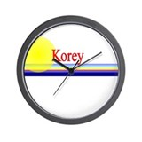 Korey Wall Clock