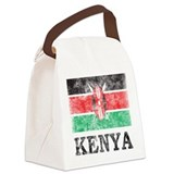 Vintage Kenya Canvas Lunch Bag