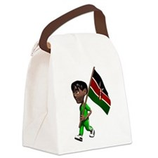 3D Kenya Canvas Lunch Bag