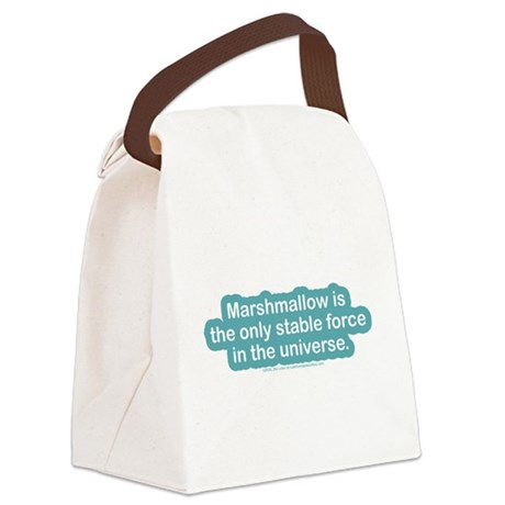 Marshamallow Stable Force Canvas Lunch Bag