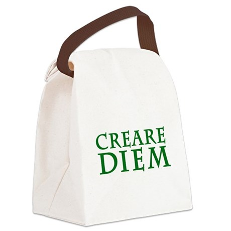 Creare Diem Canvas Lunch Bag