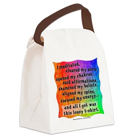 Spiritual Lousy Canvas Lunch Bag