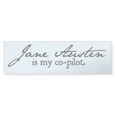 Jane Austen Bumper Bumper Sticker