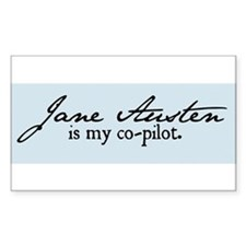 Jane Austen Decal