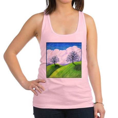 California Spring Racerback Tank Top