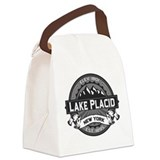 Lake Placid Logo Grey.png Canvas Lunch Bag