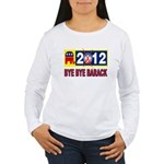 BYE BYE BARACK Women's Long Sleeve T-Shirt