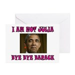 NOT JULIA Greeting Cards (Pk of 10)